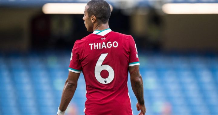 No, Thiago does not slow Liverpool down
